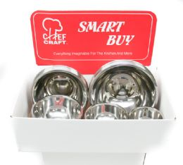Stainless Steel Bowl Display - Kitchen Tools & Gadgets