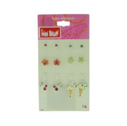 60 Wholesale Assorted Styled Earrings