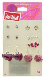 60 Wholesale Assorted Cheerleading Earrings