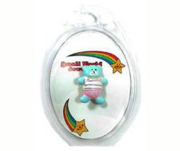 96 Wholesale Childrens Assorted Color Acrylic Bear Pin