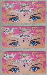 96 Wholesale Assorted Color Eye Lid Jewels