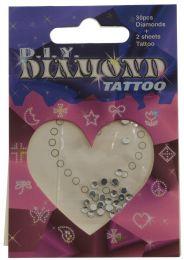 96 Wholesale Temporary Crystal Tattoos