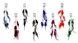 48 Wholesale Dangle Earrings With Chains And Feathers