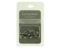 96 Wholesale Hypo Allergenic Bullet Clutch Earring Backs