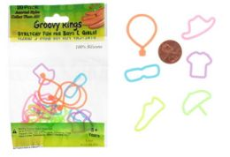 192 Wholesale Apparel Shaped Ring Silly Bands