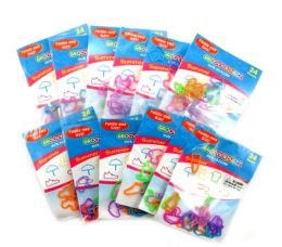 192 Wholesale Summer Shaped Ring Silly Bands
