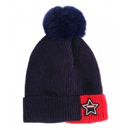 60 Units of Kids Hat Fur Lined Assorted - Junior / Kids Winter Hats