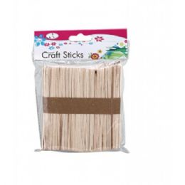 96 Units of Craft Sticks Wood - Craft Wood Sticks and Dowels