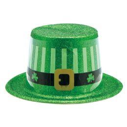 144 Units of Saint Patrick's Hat Glitter - St. Patricks