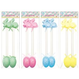 108 Wholesale Four Pack Easter Rabbit And Egg