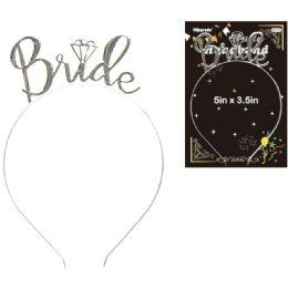 48 Units of Bride Headband - Wedding & Anniversary