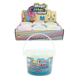 96 Units of 7 Ounce Cotton Sand - Clay & Play Dough