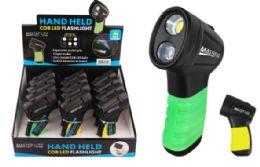 24 Wholesale Palm Grip Cob Led Flashlight