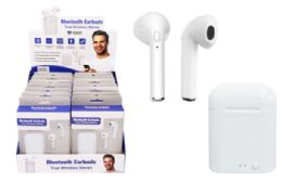 16 of Bluetooth Wireless Earbuds With Charging Base