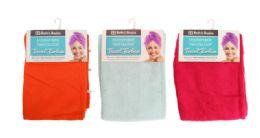 24 Units of Microfiber Turban Towel - Bath & Body