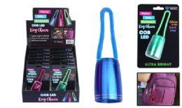 24 Wholesale Silicone Loop Cob Led Flashlight