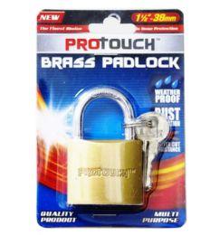 24 Wholesale Brass Padlock