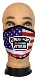 24 Wholesale Flag Style Face Mask Korean War Venteran