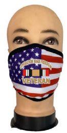 24 Wholesale Flag Style Face Mask Iraqi Veteran