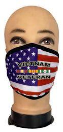 24 Wholesale Flag Style Face Mask Vietnam Veteran