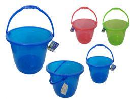 12 Units of Jumbo Pail - Beach Toys