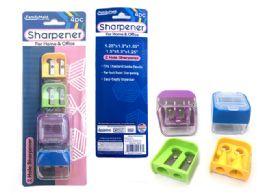 144 Bulk 4 Piece Pencil Sharpener