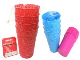 48 Units of Tumblers 4 Piece - Plastic Drinkware