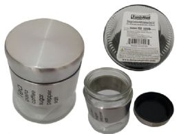24 Units of Storage Container With Stainless Steel Lid - Food Storage Containers