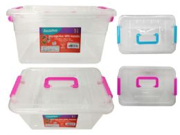 72 Units of Storage Box With Handle - Storage & Organization
