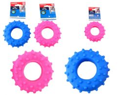 48 Units of Squeaky Pet Toy Tire - Pet Toys