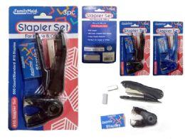 96 Bulk 3 Piece Stapler Set