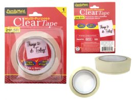 144 Units of Clear Tape - Tape & Tape Dispensers