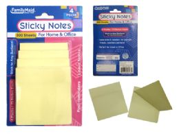 96 of 4 Pack Sticky Notes