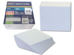 108 of Memo Cube 500 Sheets In White