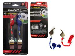 144 Units of 2 Pack Whistle - Sporting and Outdoors