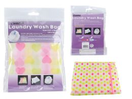 144 Units of Printed Bra Protection Wash Bag - Laundry  Supplies
