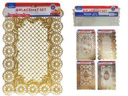 96 Units of 2pc Pvc Placemats - Placemats