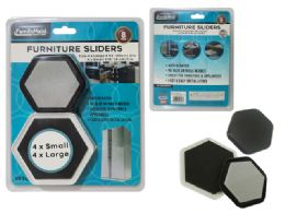 96 Units of Furniture Sliders 8pc/Set - Home Accessories