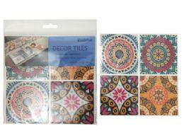 144 Units of 4 Piece Wallpaper Mosaic Tile - Home Decor
