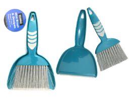 96 Units of Mini Brush And Dustpan - Dust Pans