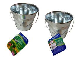 96 Units of Tin Bucket - Buckets & Basins