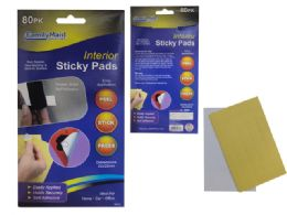 144 Units of Interior Sticky Pads - Home Accessories
