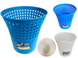 24 Units of Plastic Trash Can And Dust Bin - Waste Basket