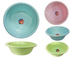 24 Units of Basin Assorted Colors - Buckets & Basins