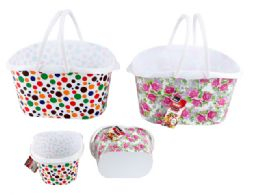24 Units of Carry Basket With Handles - Baskets