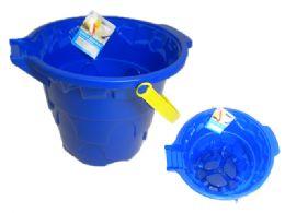 24 Units of Sand Bucket - Beach Toys