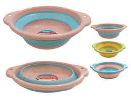 24 Units of Collapsible Bowl - Frying Pans and Baking Pans