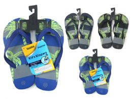 72 Units of Boys Flip Flop - Boys Flip Flops & Sandals