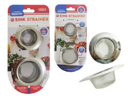 96 Units of 2 Piece Sink Strainers Set - Plumbing Supplies