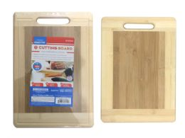 24 Units of Cutting Board Bamboo With Handle - Cutting Boards